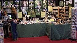 Stall at Love Pets Scotland - Royal Highland Centre